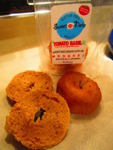 Sweet Note Bakery Gluten Free Tomato Basil Bagels