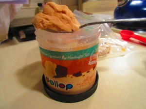 Dollop Gourmet Peanut Butter Cookie Dough Frosting