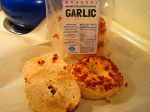 Sweet Note Gluten Free Garlic Bagels