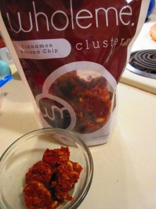 WholeMe Cinnamon Banana Chip Clusters