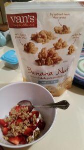 Van's Gluten Free Banana Nut Granola Clusters