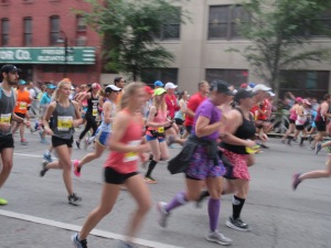 Me heading out for the start of the Kentucky Derby Festival Mini Marathon - Louisville, KY