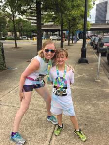 Karla & Landon at the Birmingham Color Run on May 28