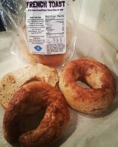 Sweet Note Gluten Free French Toast Bagels