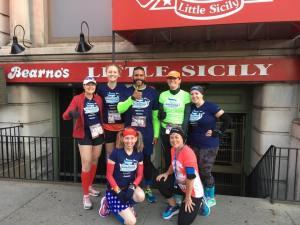 My KDF Marathon Ambassador team!! We all ran really good races that day!