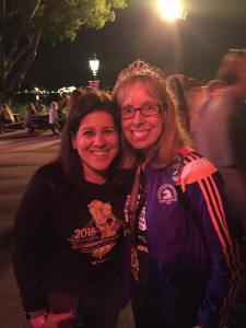Michelle just FOUND ME (for the second time in a row) in all the chaos at Epcot.  She's awesome!!