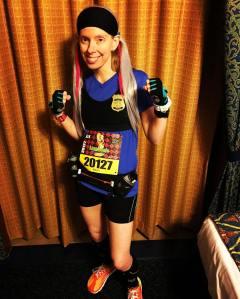 Officer Judy Hopps - Costume #1 for the Disney Wine & Dine Race Challenge