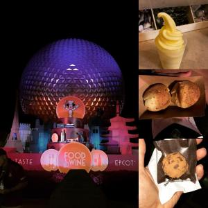 Disney Food & Wine Festival After Party Eats!!  All gluten free.  All super delicious.