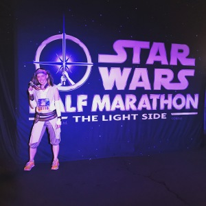 Disneyland Star Wars Light Side 10K
