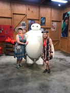 Cathy & Me with Baymax