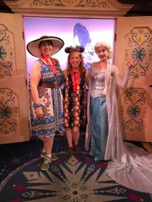 Cathy & Me with Elsa