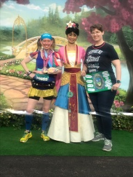 Me & Cathy with Mulan